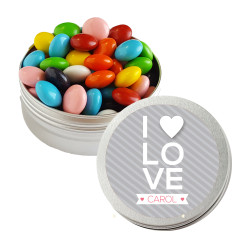 I ♥ Love Valentine Twist Tins