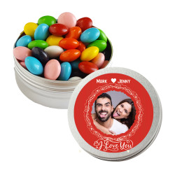 I Love You Valentine Twist Tins