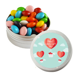 Heart Air Balloon Valentine Twist Tins