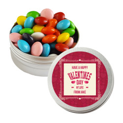 Happy Valentine's Day Twist Tins