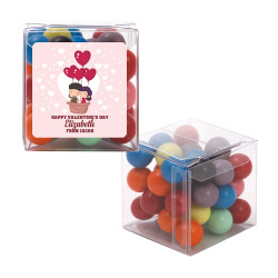Love Air Balloon Valentine Sweet Cubes