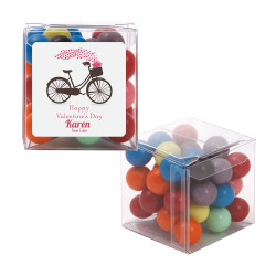 Biking Hearts Valentine Sweet Cubes