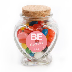 Be My Valentine Glass Jar