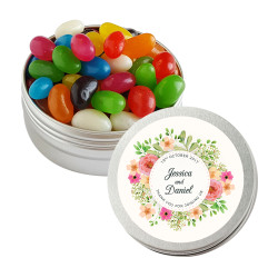 Flowers Wedding Twist Tins