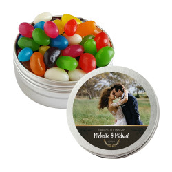 Brown Custom Photo Twist Tins