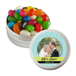 Blue and Green Custom Photo Twist Tins