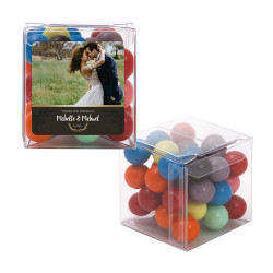 Brown Custom Photo Sweet Cubes