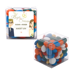 Lovers Wedding Sweet Cubes