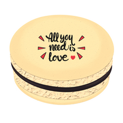 All You Need is Love ❤ Printed Macarons