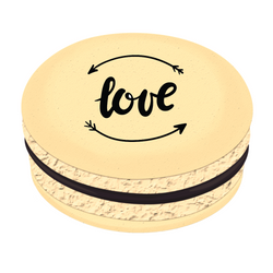 love ❤  Printed Macarons