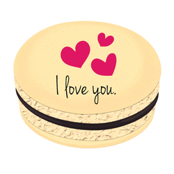 I Love You ❤  Printed Macarons