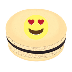 Emoji in Love ❤ Printed Macarons