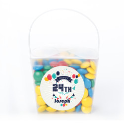 Party Balloons Birthday Noodle Box