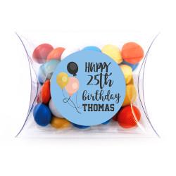 Balloons  Birthday Pillow Box