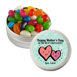 Smiling Heart Mother's Day Twist Tins