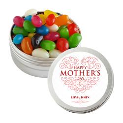 Red Swirls Mother's Day Twist Tins