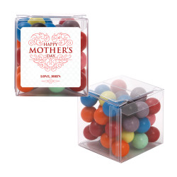 Red Swirls Mother's Day Sweet Cubes