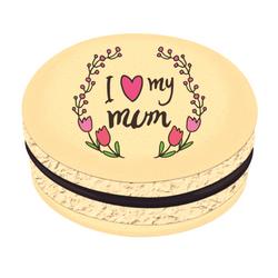 I ♥ My Mum Printed Macarons