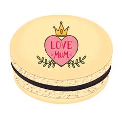 Love Mum ♥ Printed Macarons
