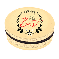 You Are the Best Printed Macarons