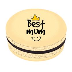 Best Mum :) Printed Macarons
