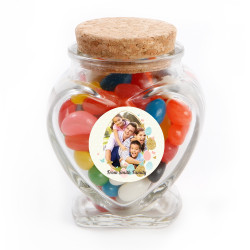 Easter Egg Custom Photo Glass Jar