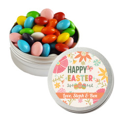 Colorful Flower Easter Twist Tins