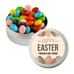 Happy Easter Eggs Twist Tins
