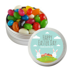 Baby Bunnies with Eggs Twist Tins
