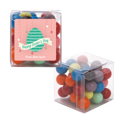 Pink with Green Easter Egg Sweet Cubes