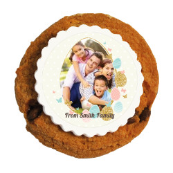 Easter Egg Custom Photo Printed Cookies