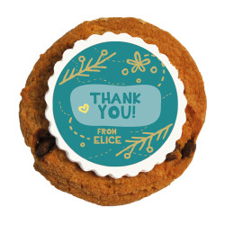 2_Thank You Printed Cookies