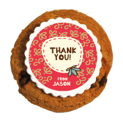 3_Thank You Printed Cookies