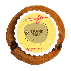 5_Thank You Printed Cookies