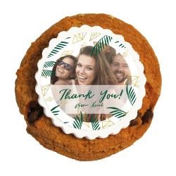 2_Custom Photo Thank You Printed Cookies