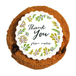 12_Thank You Printed Cookies
