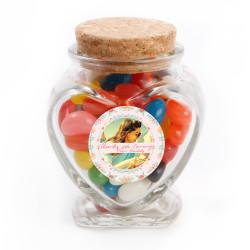 2_ Custom Photo Bridal Shower Glass Jar