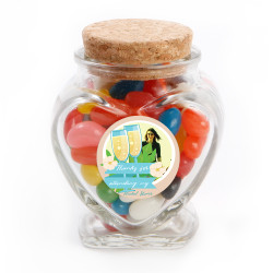 6_ Custom Photo Bridal Shower Glass Jar