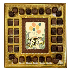 Balloon Happy Birthday Deluxe Chocolate Box