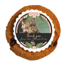 6_ Custom Photo Bridal Shower Printed Cookies