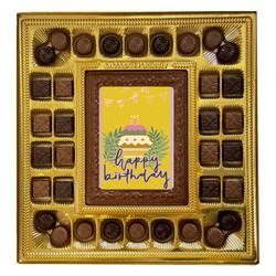 Cake Happy Birthday Deluxe Chocolate Box