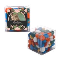 4_ Custom Photo Bridal Shower Sweet Cubes