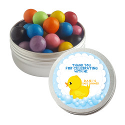 Baby Duck Baby Shower Twist Tins