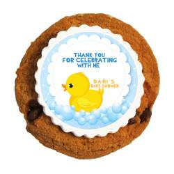Baby Duck Baby Shower Printed Cookies