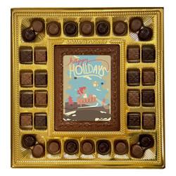Happy Holidays Deluxe  Chocolate Box