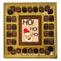 Santa Ho! Ho! Ho! Deluxe  Chocolate Box