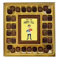 Here's Your Happy Pill Deluxe  Chocolate Box