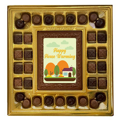 Green Happy House Warming Deluxe  Chocolate Box