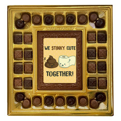 We Stinky Cute Together Deluxe  Chocolate Box