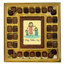 Kids with Mom - Happy Mother's Day Deluxe  Chocolate Box